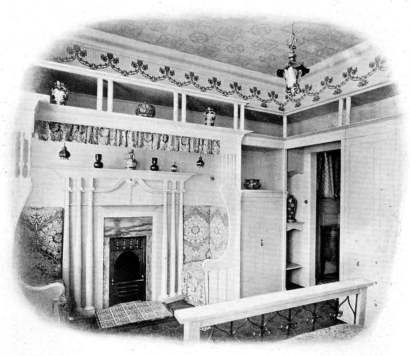 1902 bedroom in white