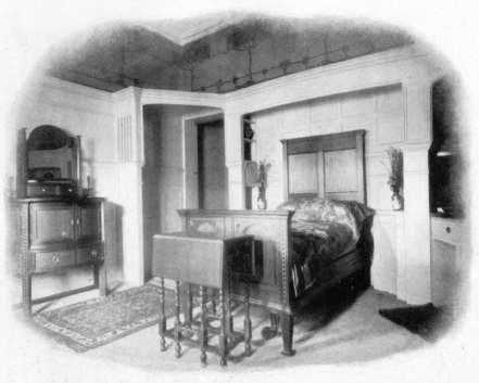 fitted furniture in white 1902