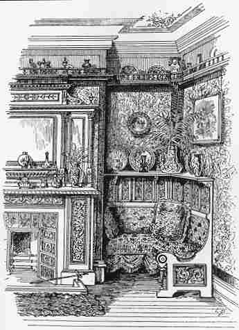 drawing room of the 1890s