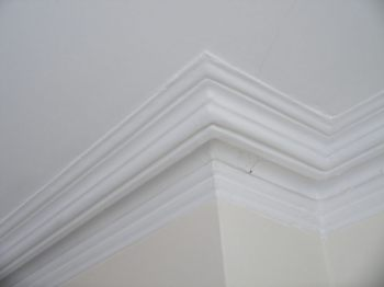 typical cornice of late Victorian and Edwardian periods