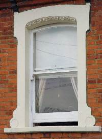 An original sash window